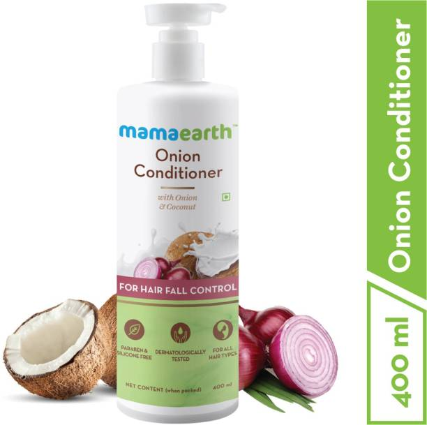 "MamaEarth ""Onion Conditioner for Hair Growth & Hair Fall Control with Coconut Oil 400ml"""