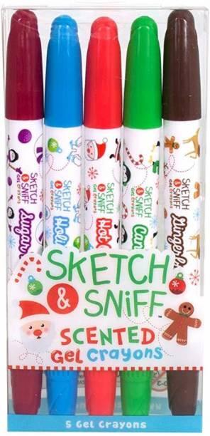 Scentco Holiday Gel Crayons