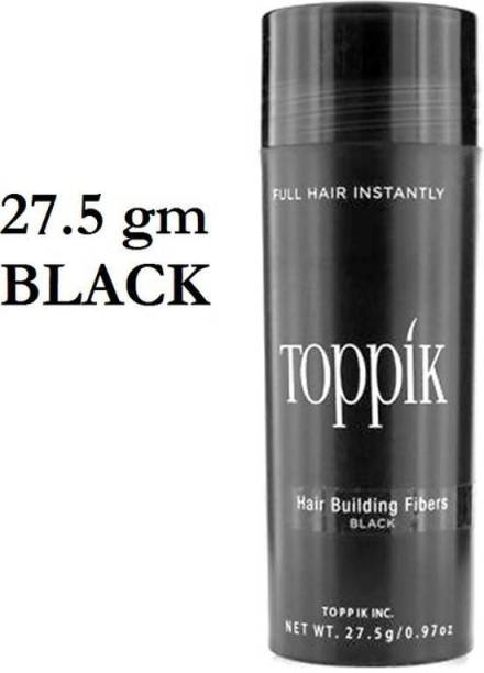 toppik Hair Building Styling Fibers Black 27.5 gm Hair Fiber