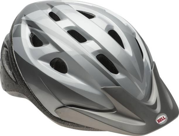 Bell Adult Silver Ti Fang Rig Helmet [Cat_7864] Cycling Helmet