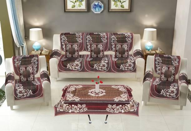 DECOR VATIKA Cotton Sofa Cover