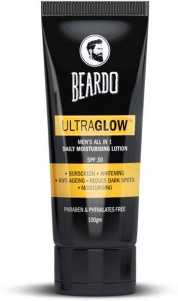 BEARDO Ultraglow All in 1 Men's Daily Moisturising Lotion - SPF 30