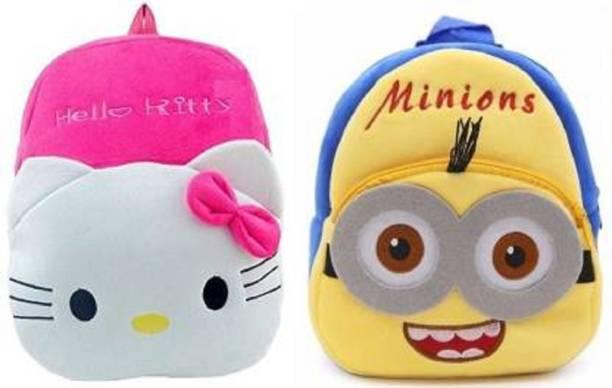Funtoos KITTY & MINIONS Plush Bag