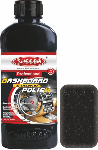 sheeba Car Polish for Dashboard, Leather