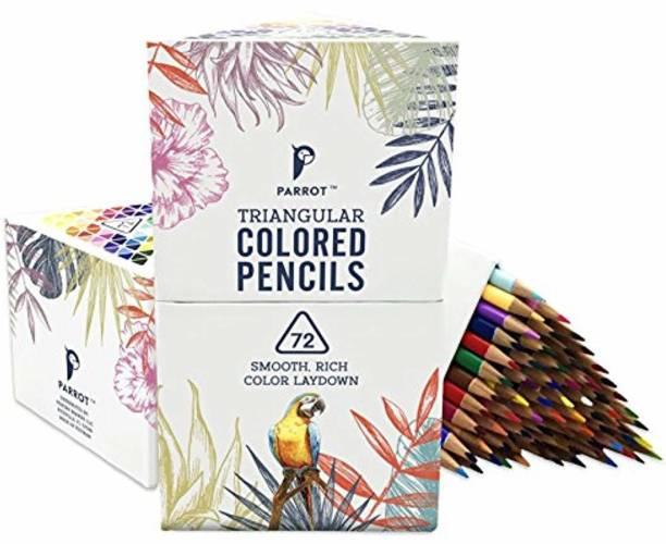 Parrot Premier Round Shaped Color Pencils
