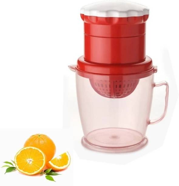 HUMBLE KART Plastic Hand Juicer 2 In 1 Orange, Grapes & Watermelon Hand Press Manual Juicer