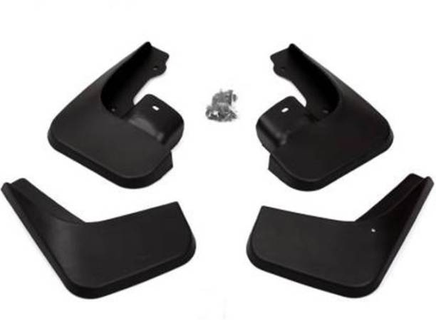 BJ TRADERS Front Mud Guard, Rear Mud Guard For Skoda Rapid NA