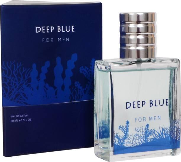 Love Drop Perfumes Deep Blue Perfume for Men, 50 ML Fresh & Aqua Perfume for Men, Eau De , Long Lasting Body Perfume Spray for Everyday Use, Free from Animal Products & Cruelty-free Eau de Parfum  -  50 ml