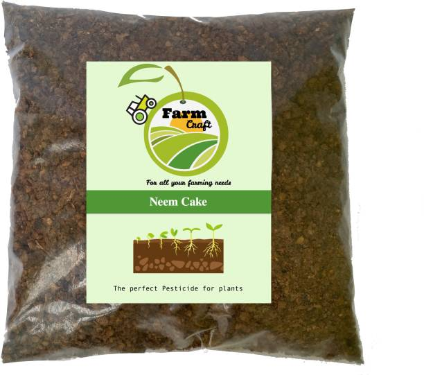 FarmCraft Natural Neem/Khali cake powder organic fertiliser and pest repellent Fertilizer