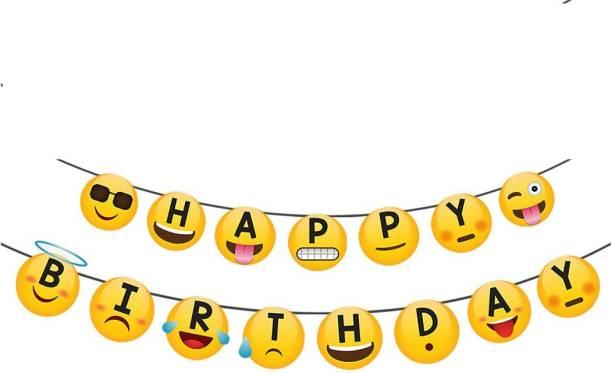 Party Propz Emoji / Smiley Cap (Set of 10 Pieces) / Emoji Party Supplies / Emoji Party Decorations / Emoji Party Props / Emoji Decoration / Emoji Birthday Decorations / Emoji Birthday Party Banner