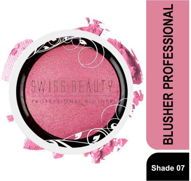 SWISS BEAUTY BLUSHER PROFESSIONAL SB-802 07-BabyPink