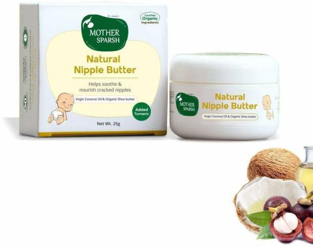 Mother Sparsh Nipple Butter Cream for Breastfeeding Moms with certified Organic Ingredients