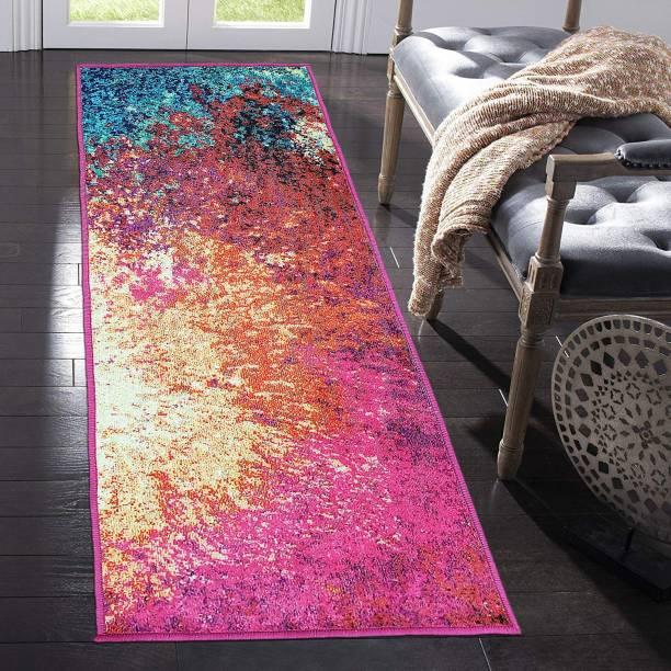STATUS Multicolor Polyester Runner
