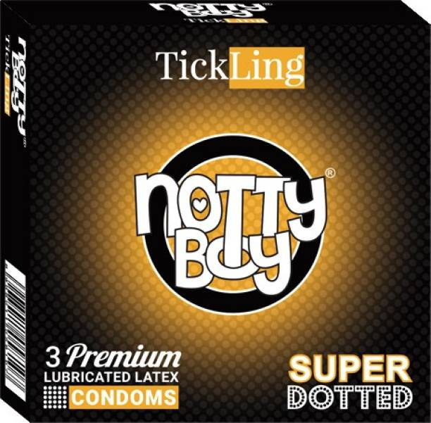 NottyBoy TickLing Extra Dotted Condom
