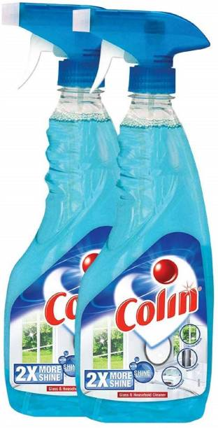 colin Glass Cleaner Spray - 500 ml (Pack of 2)