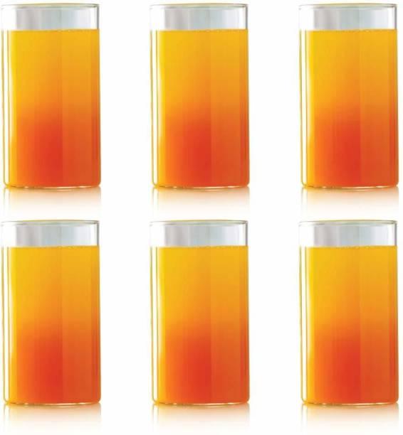 BOROSIL (Pack of 6) Vision Glass Large - 350ml set of 6 Glass Set Glass Set