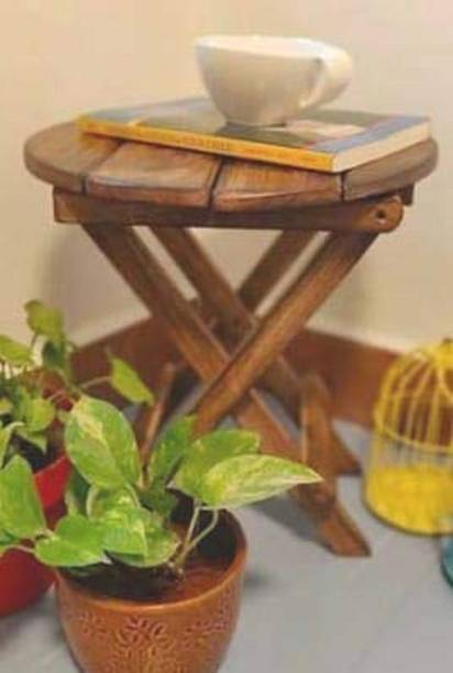 sk handicrafts Solid Wood Side Table