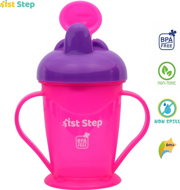 200 ml BLUE // GREEN 0/%BPA 2 x Philips Avent Easy Sip Spout Cup with Handle