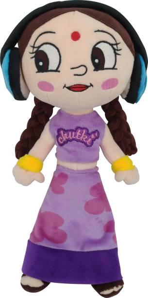 CHHOTA BHEEM Chutki with Headphone  - 33 cm