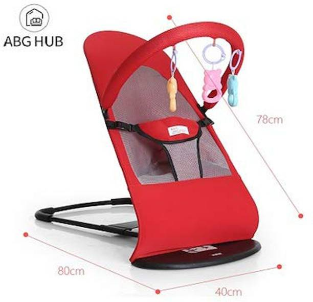 Iris Baby High Chair, Jumping Chair- The Smart High Chair for Baby/Kids(Red) Bouncer