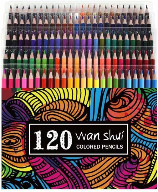 Wanshui Art Creation Round Shaped Color Pencils