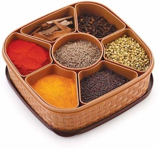 3D METRO SUPER STORE Spice Container And Masala Box Spice Set