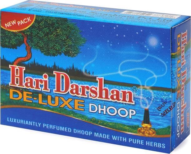 Hari Darshan Deluxe Dhoop Luxuriantly Perfumed Made With Pure Herbs Dhoop