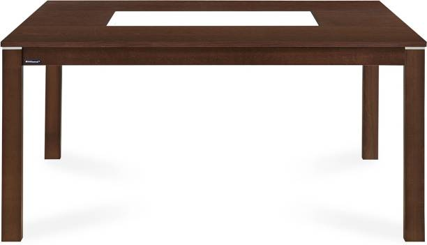 Nilkamal Zabel Engineered Wood 6 Seater Dining Table