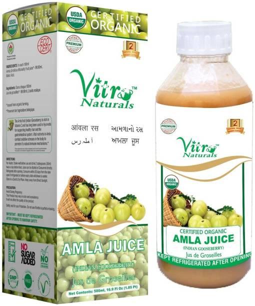 VITRO Certified Organic Amla Juice