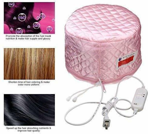 Unovic Hair Care Thermal Head Spa Cap Treatment with Beauty Steamer Nourishing Heating Cap, Spa Cap For Hair, Spa Cap Steamer For Women Hair Steamer