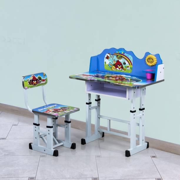 RoyalOak Angry Bird Kids Engineered Wood Study Table