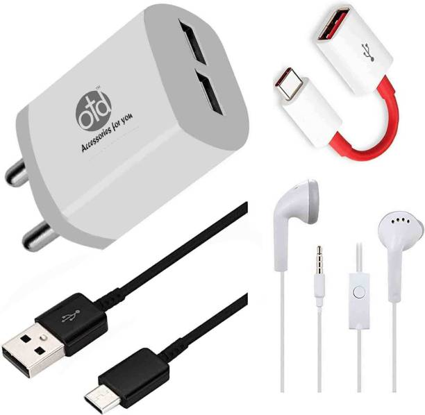 OTD Wall Charger Accessory Combo for Lenovo K12 Note, Lenovo K12 Pro, Lenovo K9, Lenovo Legion