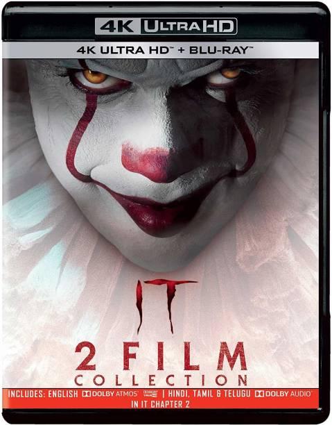 It: Chapter 1 & 2 (4K UHD & HD) (4-Disc)