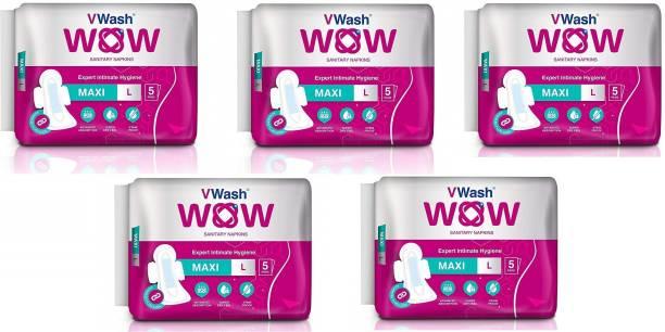V Wash Wow Maxi Sanitary Pad Sanitary Pad