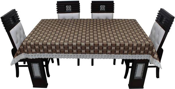 KingMatters Printed 6 Seater Table Cover