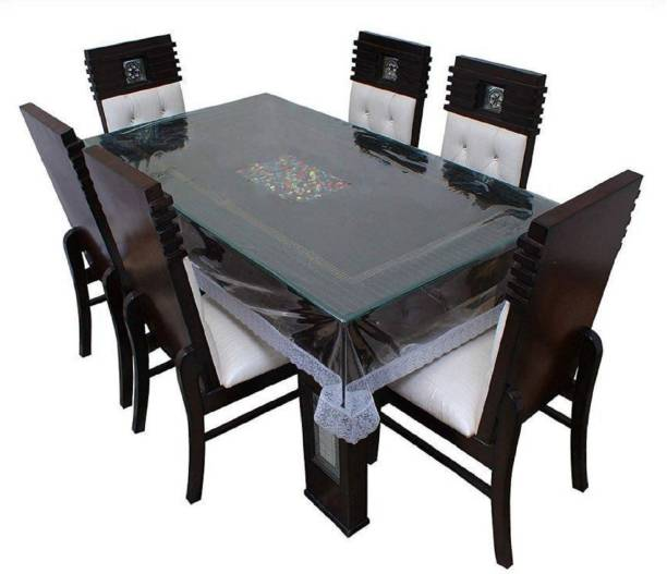 Tanishka Fabs Floral 6 Seater Table Cover