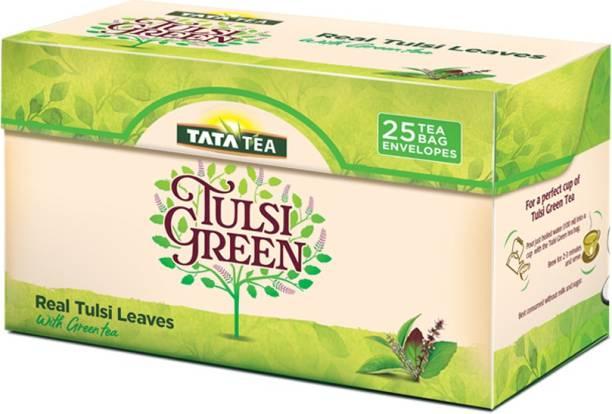 Tata Tulsi Green Tea Bags Box