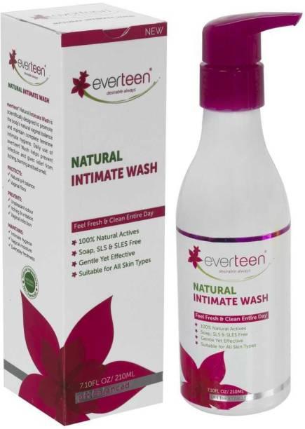 everteen Natural Intimate Wash for Feminine Hygiene in Women – 1 Pack (210 ml) Intimate Wash
