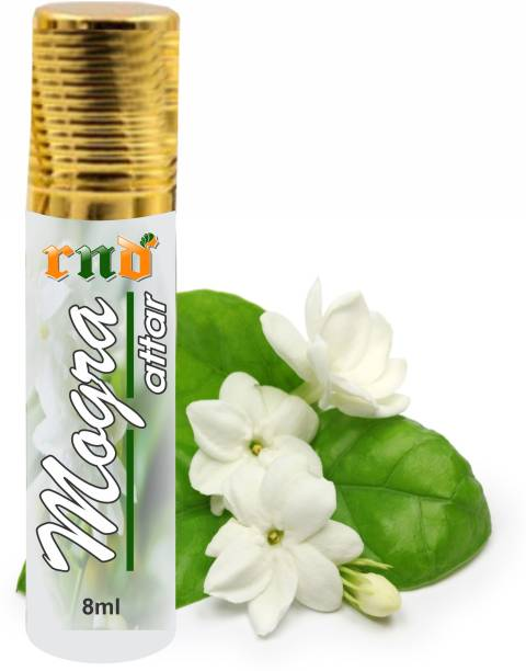 RND Mogra Attar Perfume For Unisex - Pure Natural Undiluted |Non - Alcoholic| 8 ml Herbal Attar