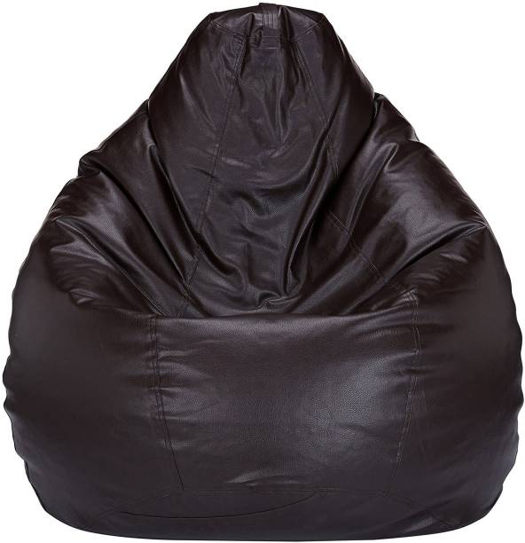 Nexis Sundry XXL Tear Drop Bean Bag Cover  (Without Beans)