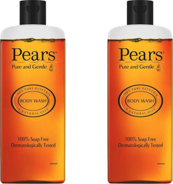 Pears pure & gentle body wash 250 ml (pack of 2)