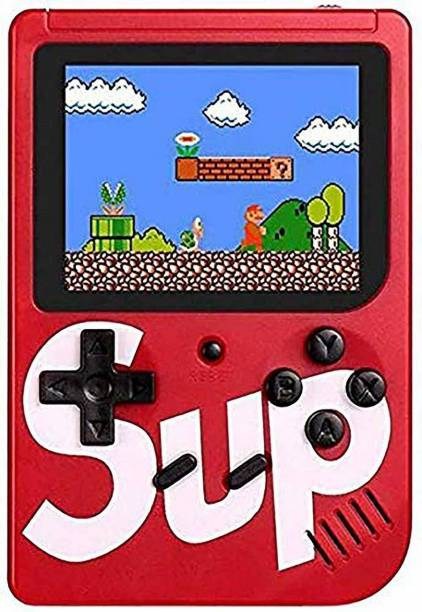 Toyvala TV Video Game SUP Game Box with Mario/Super Mario/DR Mario/Contra/Turtles & Other 400+ Games with Battery Included 1 GB with Mario