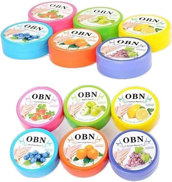 OBN NAIL POLISH REMOVER TISSUS PADS PACK OF 12