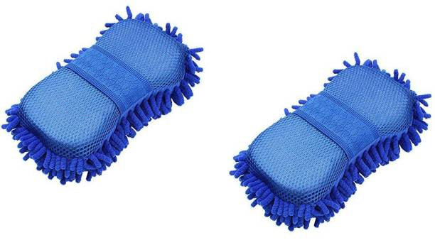 PUHBRHY Microfiber Vehicle Washing  Sponge