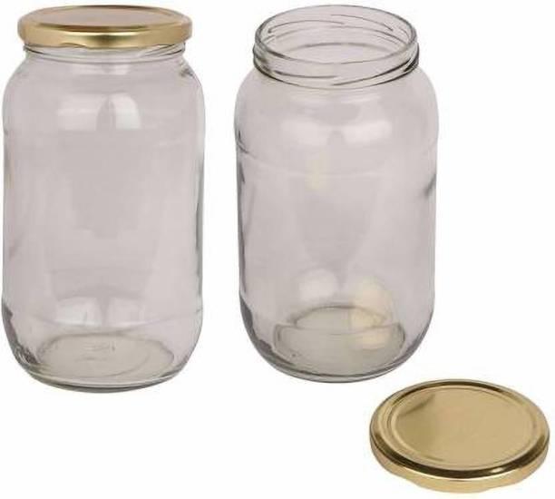 creativecreator Glass jar  - 1000 ml Glass Fridge Container