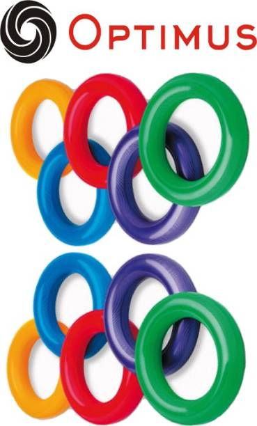 Optimus ® 10 Tennikoit Ring Tennicoit Ring Tenniquoit Ring Tennis Ring Rubber Ring - Plain Rubber Tennikoit Ring