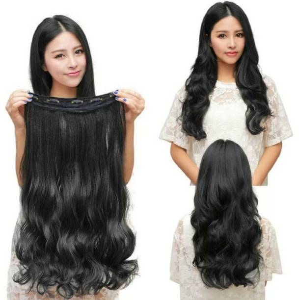HAVEREAM in Black Silky soft Hair Extension