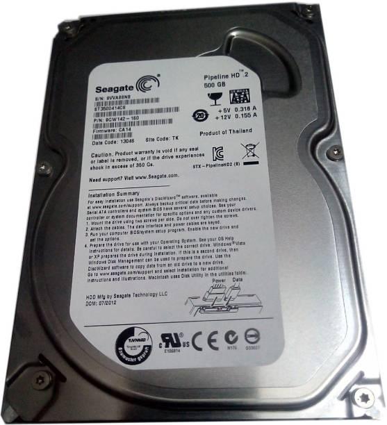 Seagate PIPELINE HD.2p 500 GB Desktop Internal Hard Disk Drive (ST3500414CSP)