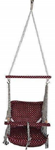 Luximal Cotton Home Swing for Baby Julla Cotton Small Swing