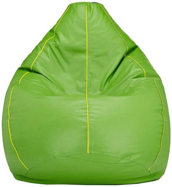 VSK XXL Tear Drop Bean Bag Cover  (Without Beans)